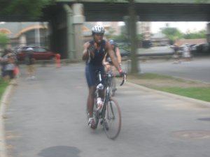 Bike Portion of Triathlon