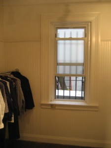 Wainscoting and Window molding