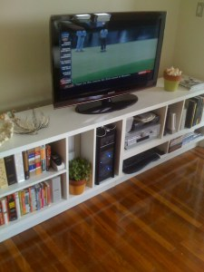 Home Theatre Shelving Unit