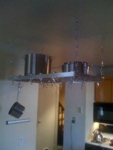 Pot Rack Installation