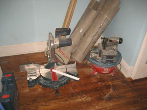 Tools needed for crown molding