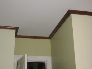 Crown Molding in Browstone