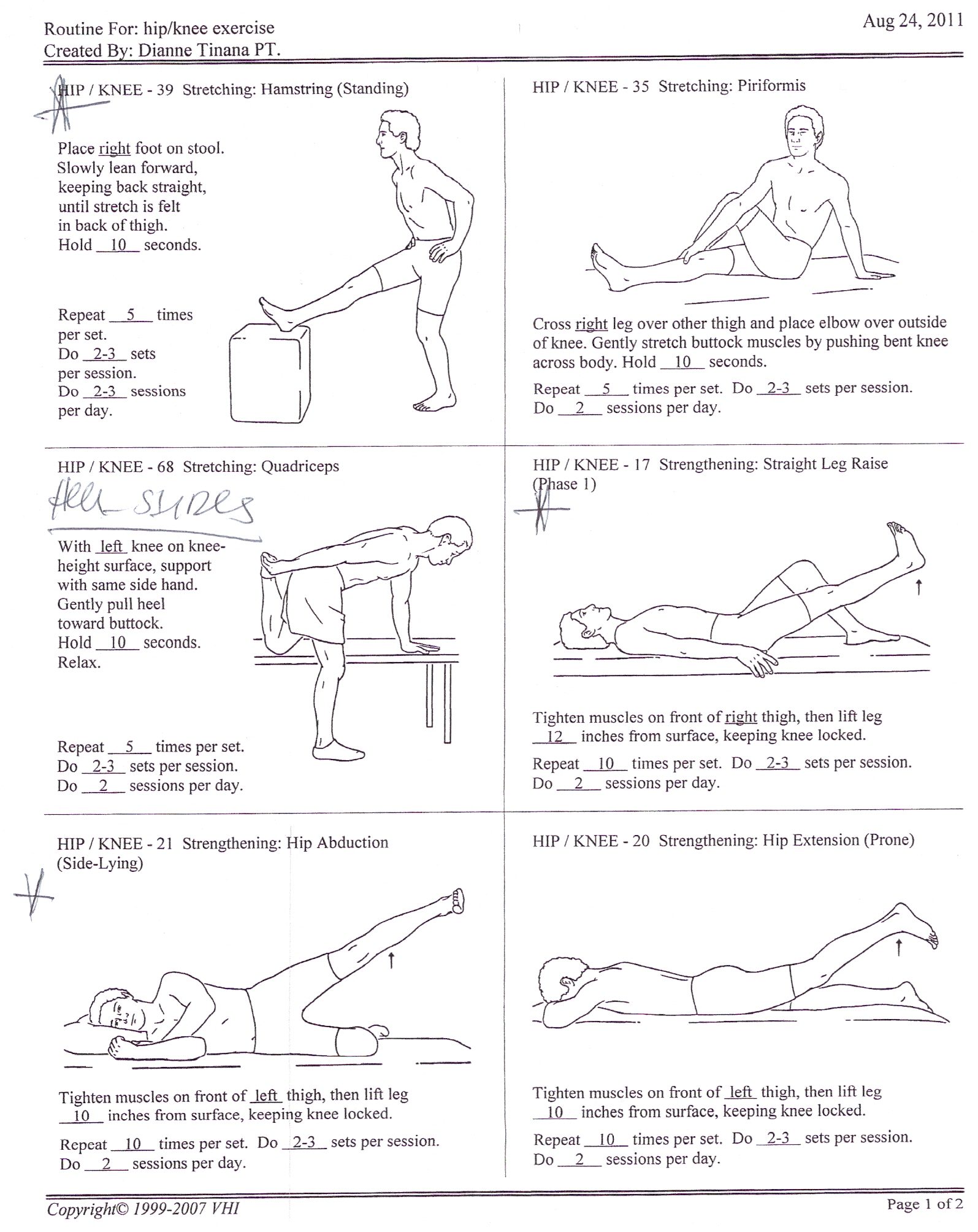 Knee physical therapy exercises pdf dolapgnetband knee physical therapy exercises pdf ccuart Image collections