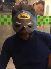 Batman Paper Mask