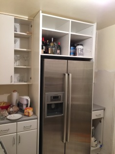 Above Fridge Cabinet Build