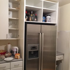 Above Fridge Cabinet Build