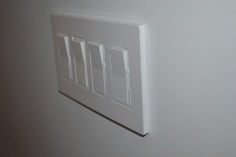 4-Gang Dimmer Switch Install