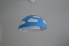 Kids mounted Pendant light Install