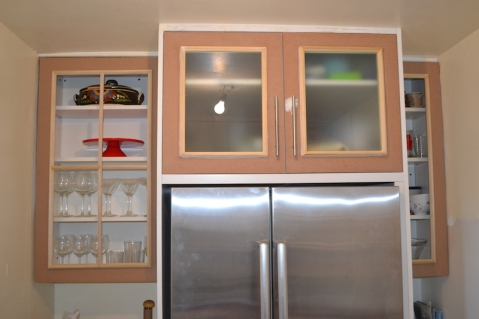4 light Cabinet door