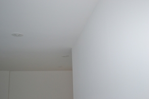 Ceiling and Walls Skim Coated and Painted