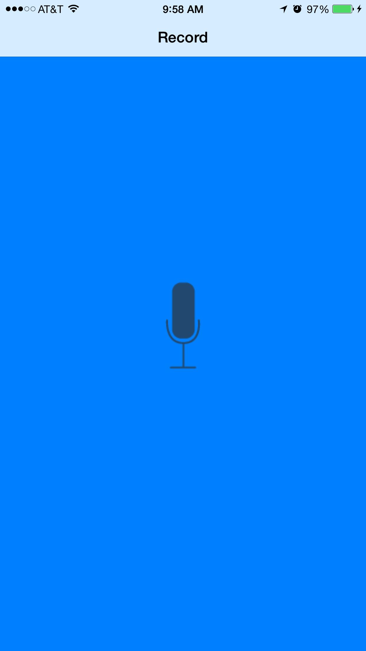 Pitch Perfect App – Udacity Nanodegree iOS Developer (Course